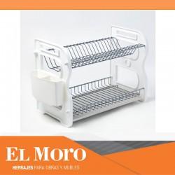 JER/ Enrollable /Escurreplatos /Escurreplatos con 50/x 34/cm de Acero Inoxidable 304/de/ diarias Objetos
